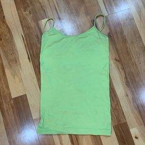 MAURICE'S Lime Green Tank Top/Camisole